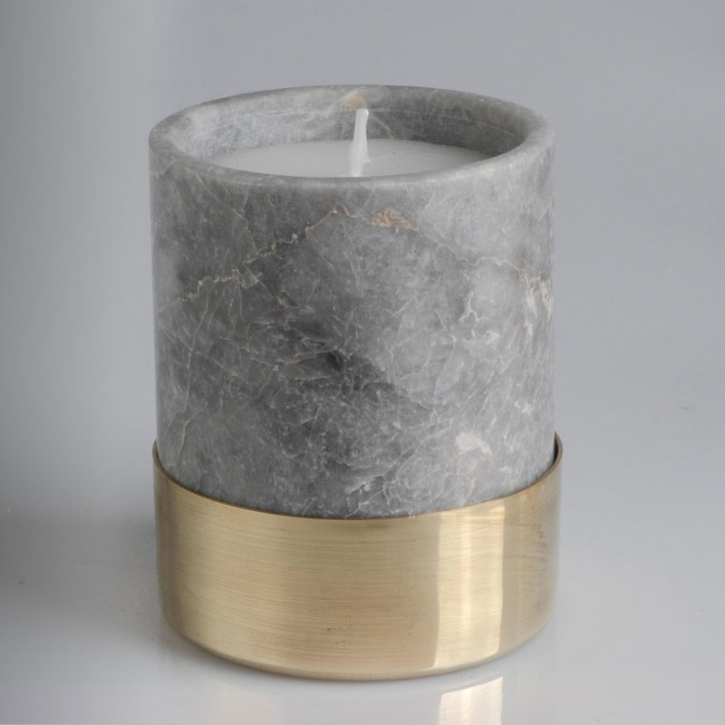 marble candle monorocks
